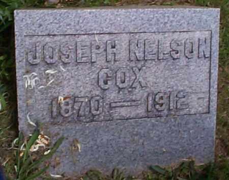 COX, JOSEPH NELSON - Athens County, Ohio | JOSEPH NELSON COX - Ohio Gravestone Photos