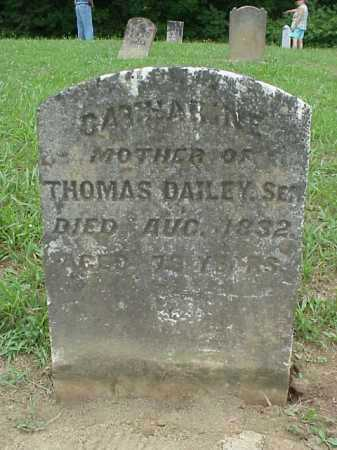 DAILEY, CATHARINE - Athens County, Ohio | CATHARINE DAILEY - Ohio Gravestone Photos