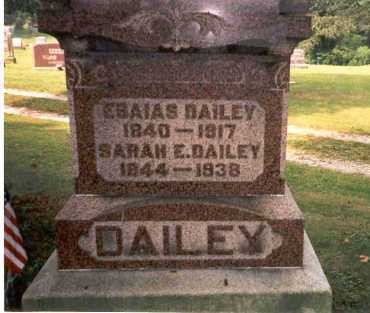KING DAILEY, SARAH - Athens County, Ohio | SARAH KING DAILEY - Ohio Gravestone Photos