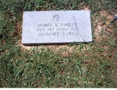 DAILEY, JAMES T. - Athens County, Ohio   JAMES T. DAILEY - Ohio Gravestone Photos