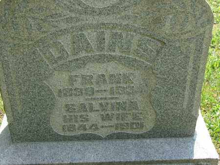 DAINS, SALVINA - Athens County, Ohio | SALVINA DAINS - Ohio Gravestone Photos