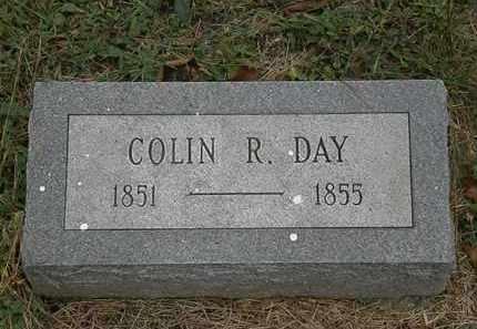 DAY, COLIN R. - Athens County, Ohio   COLIN R. DAY - Ohio Gravestone Photos