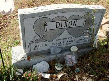 DIXON, JERRY - Athens County, Ohio | JERRY DIXON - Ohio Gravestone Photos