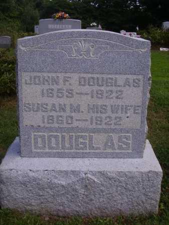 MCDONALD DOUGLAS, SUSAN M. - Athens County, Ohio | SUSAN M. MCDONALD DOUGLAS - Ohio Gravestone Photos