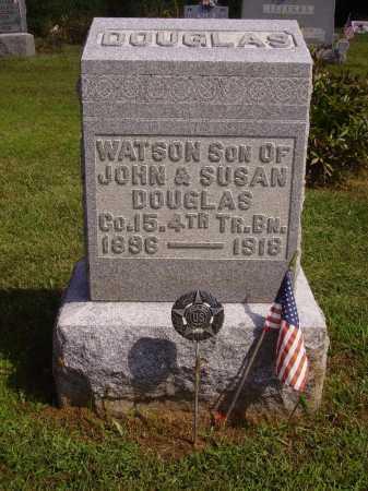 DOUGLAS, WATSON - Athens County, Ohio | WATSON DOUGLAS - Ohio Gravestone Photos