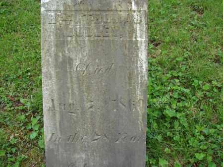DUDLEY, REV. THOMAS - Athens County, Ohio | REV. THOMAS DUDLEY - Ohio Gravestone Photos