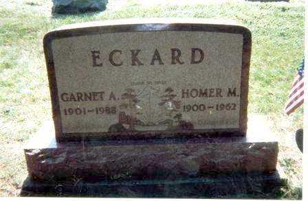 LINSCOTT ECKARD, GARNET - Athens County, Ohio | GARNET LINSCOTT ECKARD - Ohio Gravestone Photos