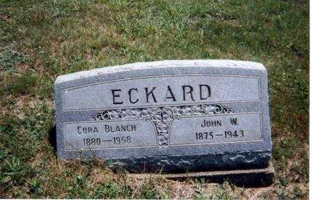ECKARD, CORA BLANCH - Athens County, Ohio | CORA BLANCH ECKARD - Ohio Gravestone Photos