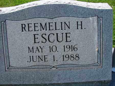 ESCUE, REEMELIN H - Athens County, Ohio | REEMELIN H ESCUE - Ohio Gravestone Photos