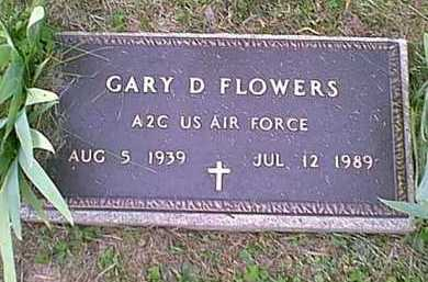 FLOWERS, GARY DEAN - Athens County, Ohio   GARY DEAN FLOWERS - Ohio Gravestone Photos