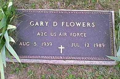 FLOWERS, GARY DEAN - Athens County, Ohio | GARY DEAN FLOWERS - Ohio Gravestone Photos