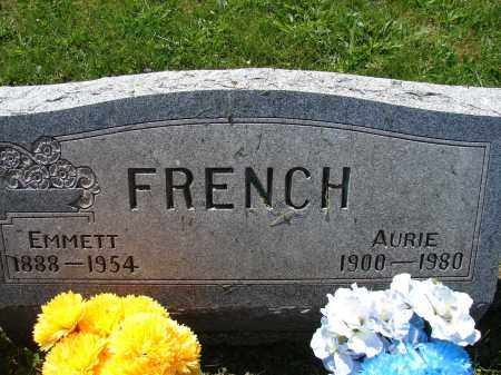 FRENCH, EMMETT - Athens County, Ohio | EMMETT FRENCH - Ohio Gravestone Photos