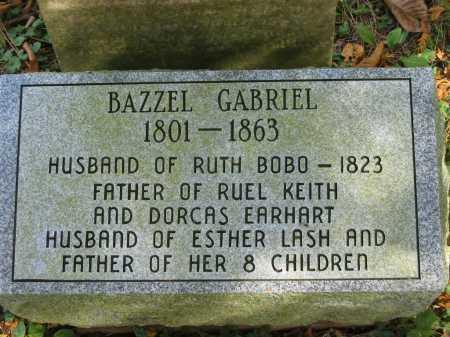 LASH GABRIEL, ESTHER - Athens County, Ohio | ESTHER LASH GABRIEL - Ohio Gravestone Photos