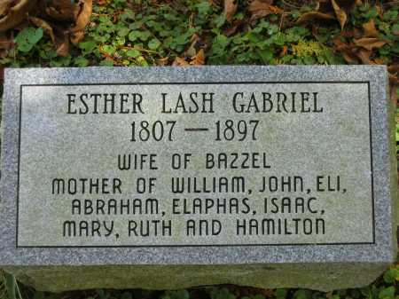 GABRIEL, ESTHER - Athens County, Ohio | ESTHER GABRIEL - Ohio Gravestone Photos