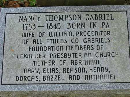 GABRIEL, WILLIAM - Athens County, Ohio | WILLIAM GABRIEL - Ohio Gravestone Photos