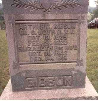 GIBSON, ARTHUR G - Athens County, Ohio | ARTHUR G GIBSON - Ohio Gravestone Photos
