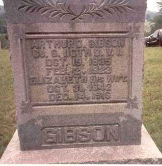 GIBSON, ELIZABETH - Athens County, Ohio | ELIZABETH GIBSON - Ohio Gravestone Photos