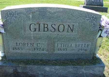 GIBSON, ETHEL BELLE - Athens County, Ohio | ETHEL BELLE GIBSON - Ohio Gravestone Photos