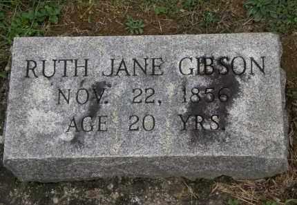 GIBSON, RUTH JANE - Athens County, Ohio   RUTH JANE GIBSON - Ohio Gravestone Photos
