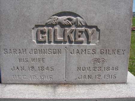 JOHNSON GILKEY, SARAH - Athens County, Ohio | SARAH JOHNSON GILKEY - Ohio Gravestone Photos