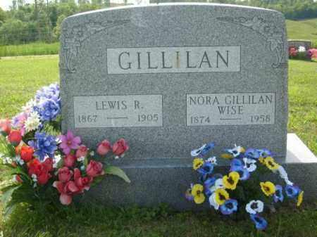 GILLILAN, LEWIS R. - Athens County, Ohio | LEWIS R. GILLILAN - Ohio Gravestone Photos