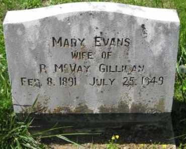 EVANS GILLILAN, MARY - Athens County, Ohio | MARY EVANS GILLILAN - Ohio Gravestone Photos