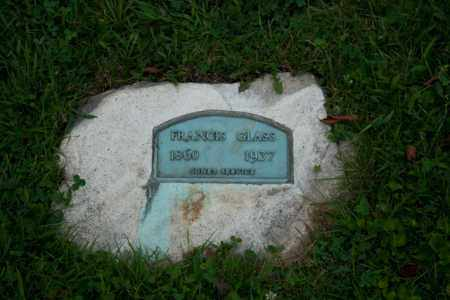 TOLLEY GLASS, FRANCIS - Athens County, Ohio | FRANCIS TOLLEY GLASS - Ohio Gravestone Photos