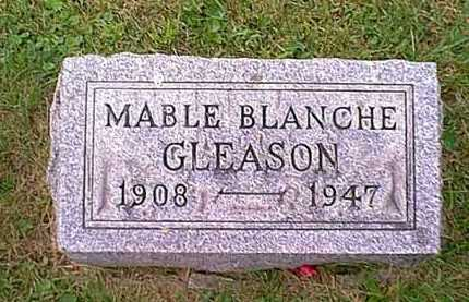 HITCHINGS GLEASON, MABLE BLANCHE - Athens County, Ohio | MABLE BLANCHE HITCHINGS GLEASON - Ohio Gravestone Photos