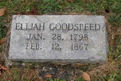 GOODSPEED, ELIJAH - Athens County, Ohio | ELIJAH GOODSPEED - Ohio Gravestone Photos