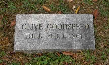 GOODSPEED, OLIVE - Athens County, Ohio | OLIVE GOODSPEED - Ohio Gravestone Photos