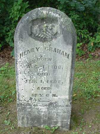 GRAHAM, HENRY - Athens County, Ohio | HENRY GRAHAM - Ohio Gravestone Photos