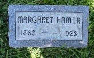 WALTERS HAMER, MARGARET JANE - Athens County, Ohio | MARGARET JANE WALTERS HAMER - Ohio Gravestone Photos