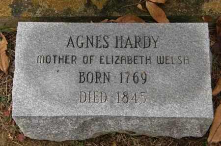 HARDY, AGNES - Athens County, Ohio | AGNES HARDY - Ohio Gravestone Photos