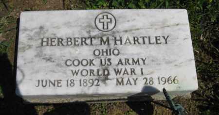 HARTLEY, HERBERT M. - Athens County, Ohio | HERBERT M. HARTLEY - Ohio Gravestone Photos