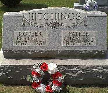 HITCHINGS, BERTHA J. - Athens County, Ohio | BERTHA J. HITCHINGS - Ohio Gravestone Photos