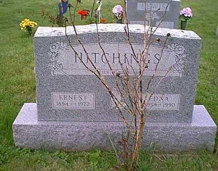 HITCHINGS, EDNA - Athens County, Ohio   EDNA HITCHINGS - Ohio Gravestone Photos