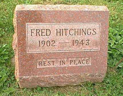 HITCHINGS, FRED - Athens County, Ohio | FRED HITCHINGS - Ohio Gravestone Photos