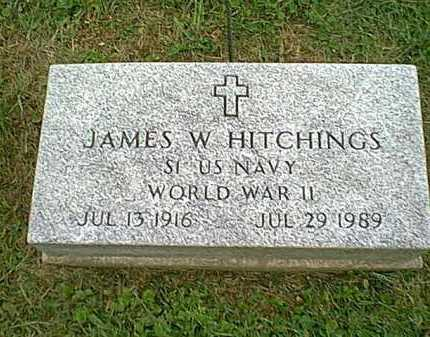 HITCHINGS, JAMES W. - Athens County, Ohio | JAMES W. HITCHINGS - Ohio Gravestone Photos