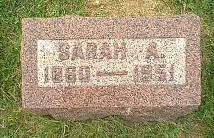 STANDALL HITCHINGS, SARAH ANN - Athens County, Ohio | SARAH ANN STANDALL HITCHINGS - Ohio Gravestone Photos