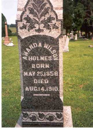 HOLMES, AMANDA - Athens County, Ohio | AMANDA HOLMES - Ohio Gravestone Photos