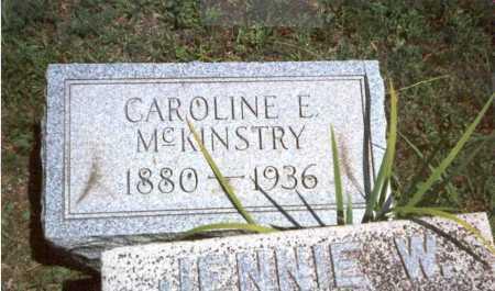 MCKINSTRY HOLMES, CAROLINE E. - Athens County, Ohio | CAROLINE E. MCKINSTRY HOLMES - Ohio Gravestone Photos