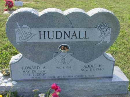 HUDNALL, HOWARD A - Athens County, Ohio | HOWARD A HUDNALL - Ohio Gravestone Photos