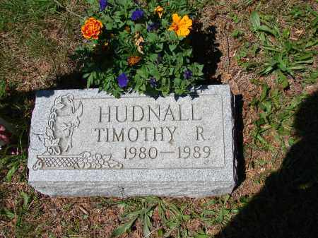 HUDNALL, TIMOTHY R - Athens County, Ohio | TIMOTHY R HUDNALL - Ohio Gravestone Photos