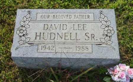 HUDNELL, DAVID LEE - Athens County, Ohio | DAVID LEE HUDNELL - Ohio Gravestone Photos