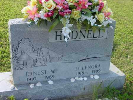 HUDNELL, D. LENORA - Athens County, Ohio | D. LENORA HUDNELL - Ohio Gravestone Photos