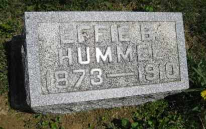 HUMMEL, EFFIE B. - Athens County, Ohio   EFFIE B. HUMMEL - Ohio Gravestone Photos