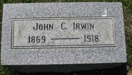 IRWIN, JOHN C. - Athens County, Ohio | JOHN C. IRWIN - Ohio Gravestone Photos