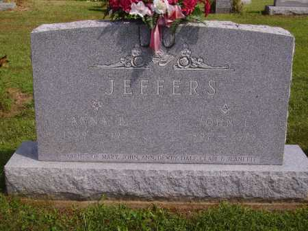 JEFFERS, JOHN L. - OVERALL VIEW - Athens County, Ohio | JOHN L. - OVERALL VIEW JEFFERS - Ohio Gravestone Photos