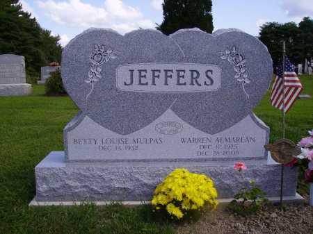 JEFFERS, WARREN ALMAREAN - Athens County, Ohio | WARREN ALMAREAN JEFFERS - Ohio Gravestone Photos
