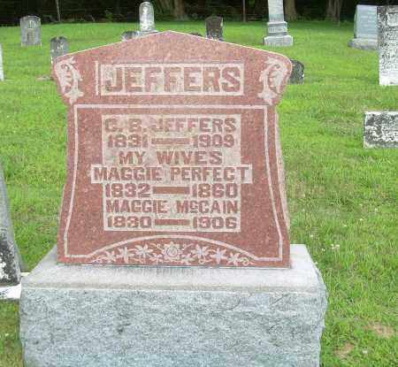 MCCAIN JEFFERS, MAGGIE - Athens County, Ohio | MAGGIE MCCAIN JEFFERS - Ohio Gravestone Photos